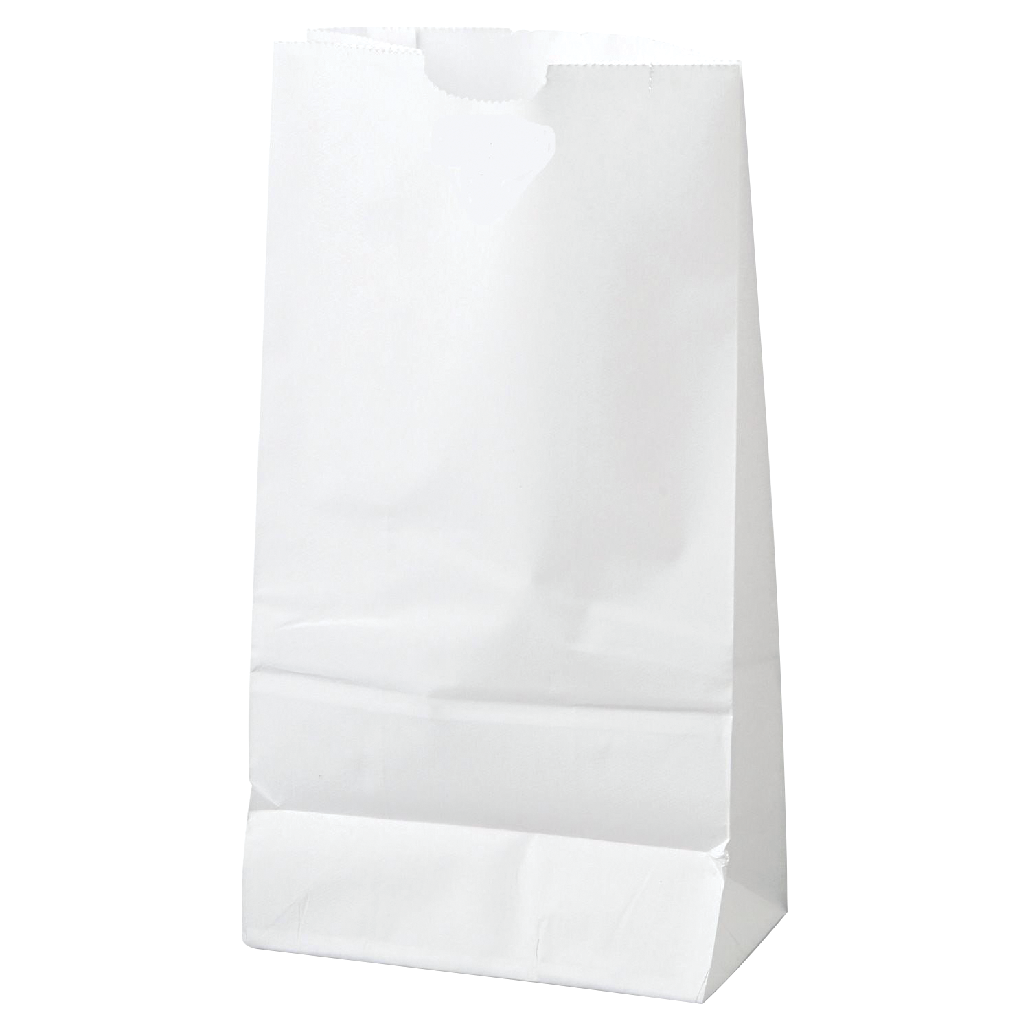Paper bags – white package